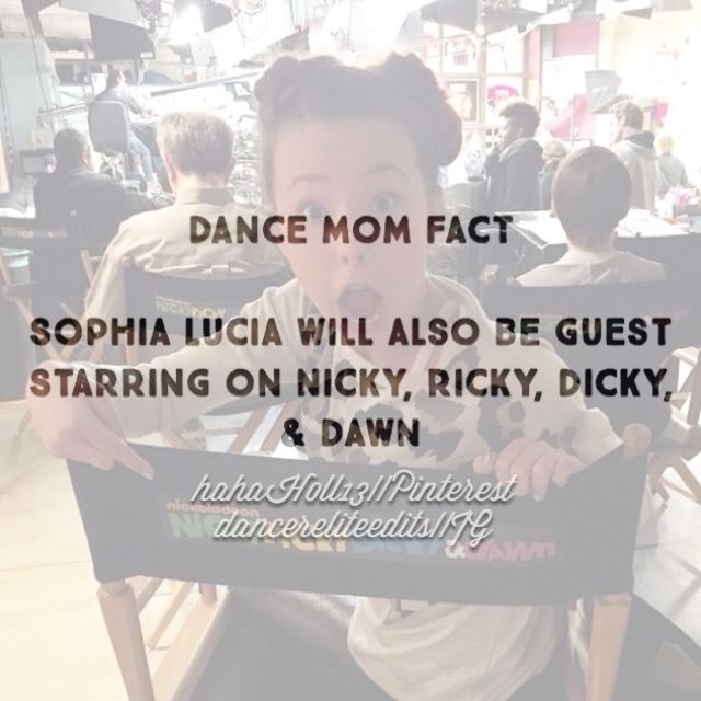 Dance Moms Confessions/Facts by #hahah0ll13 I will include if it is a fact, otherwise, it is my personal viewpoint on a matter. Facts are only what I have heard to be true. Do NOT argue with me or any body else's opinions. Simply, share your opinion and discuss. If you cause trouble, I will delete your comments and give you a warning.