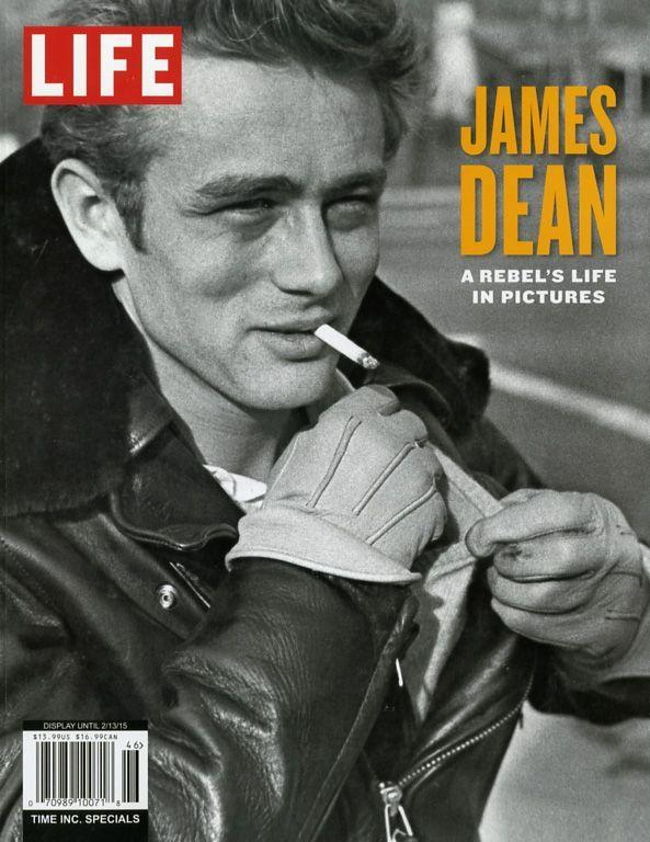 Life es el nombre de la revista en la que aparecieron las imágenes que forjaron la leyenda de James Dean
