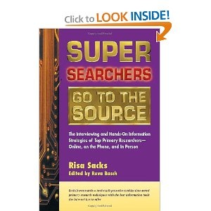 Interviewing & strategies of top primary researchers by Risa Sacks.
