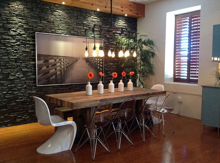 Today We Present You Some Decor Ideas To Get An Industrial Dining Room Design