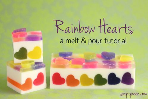 http://www.soapqueen.com/bath-and-body-tutorials/melt-and-pour-soap/rainbow-hearts-melt-pour/