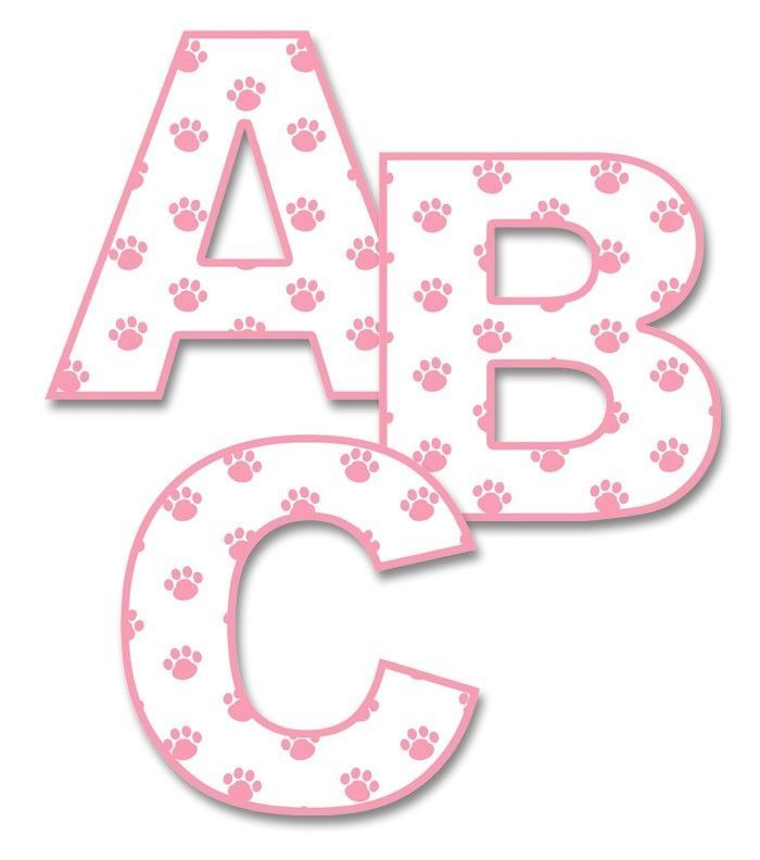 Baby Nursery Art Print Dog Abc Nursery Decor Alphabet Print: Details About Pink Puppy Dog Alphabet Letter Wall Decal