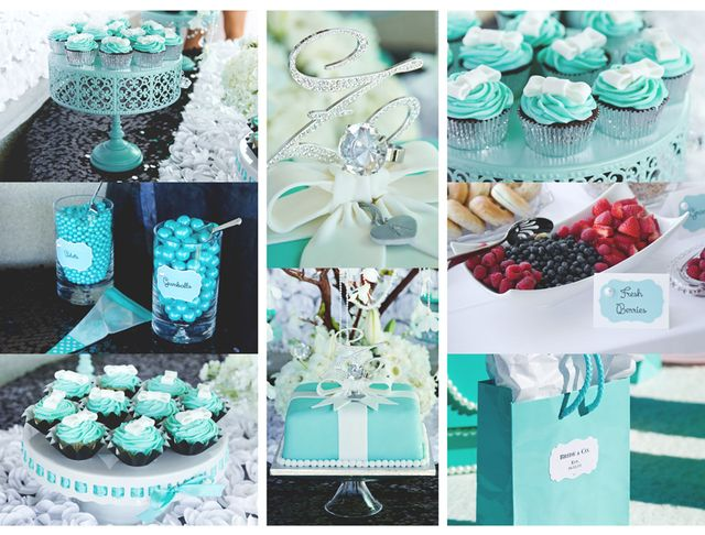 "Photo 2 of 19: Tiffany & Co, Breakfast at Tiffany's / Bridal/Wedding Shower ""Amanda & Nico are Tying the Knot"" 