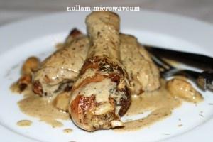 Overheerlijke sappige kip met 40 teentjes look