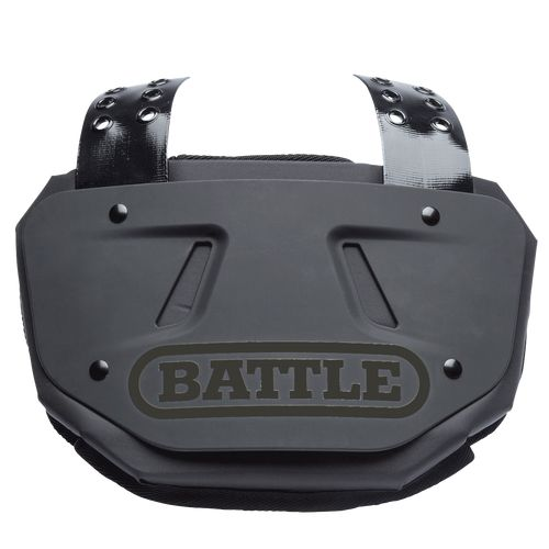 Battle Limited Edition Football Back Plate Black/Black Adult
