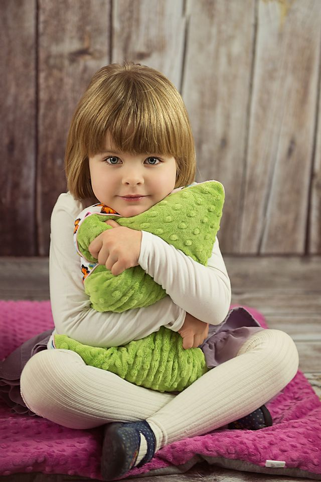 Soft and nice to touch LilleBird SOFT Butterflies Cushion for baby girls who love colourful butterflies