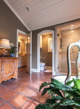 Saltillo Tile Bath Design Ideas, Pictures, Remodel and Decor