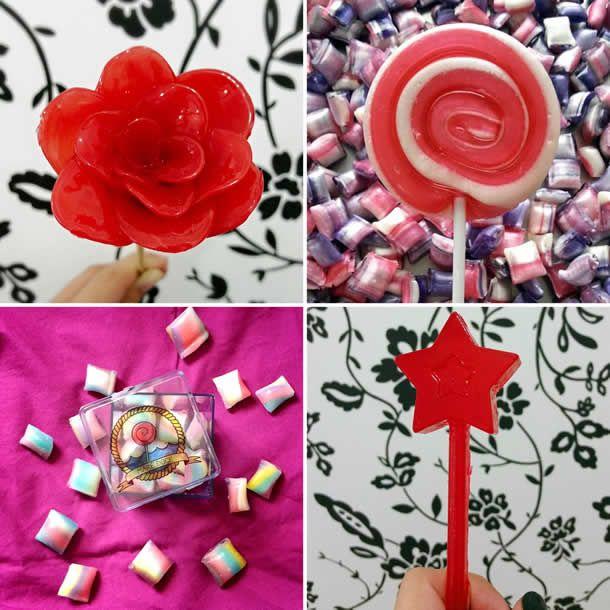 pirulitos coloridos, pirulitos personalizados, festa infantil, mesa de doces, nantal, mare doce