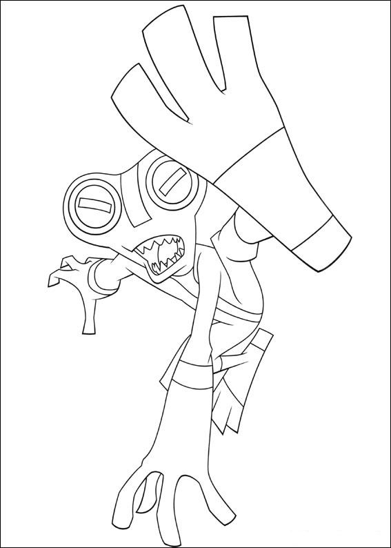 Grey Matter The Aliens Coloring Pages
