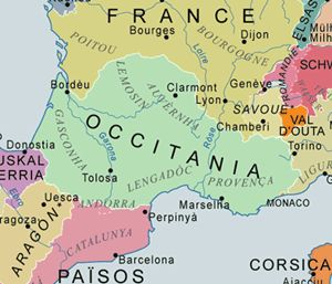 Occitania (modern-day southern France)