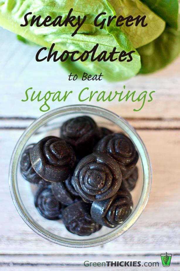 Sneaky Green Chocolates to Beat Sugar Cravings