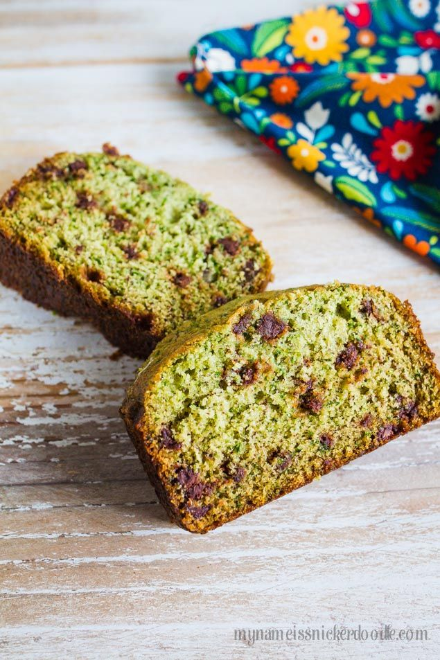 This Spinach Banana Bread is a great way to add more veggies to your diet without anyone even tasting it!