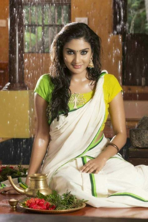 Malayalam Actress Model Aditi Ravi  Desi Masala -1154