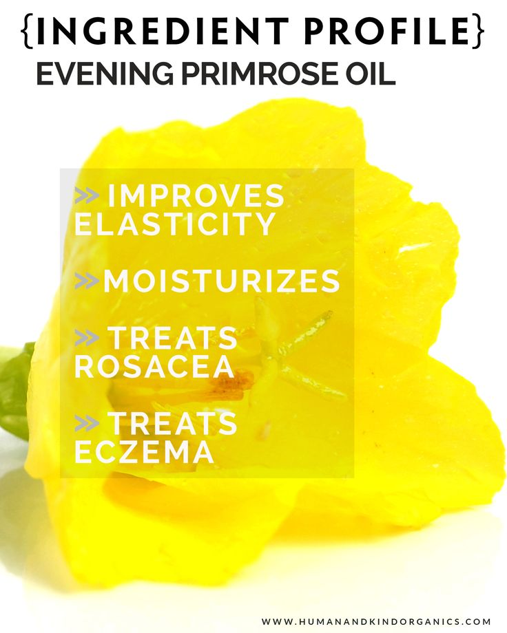 We are sharing the wonderful skin benefits of Evening Primrose Oil