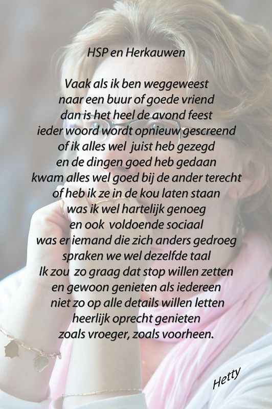 HSP en Herkauwen #hsp #herkauwen http://thuisinmijnlichaam.nl/