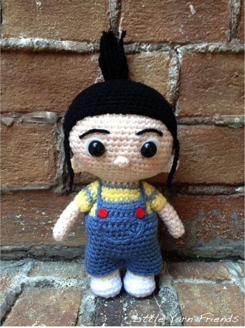 Agnès free crochet pattern