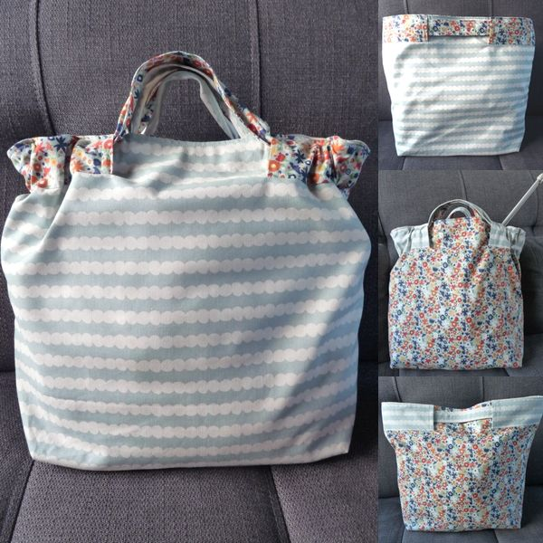 Free sewing pattern for tote bag