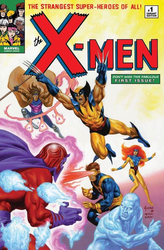 Uncanny X Men 1 2018 Complete Cover Checklist Comics Men X Men