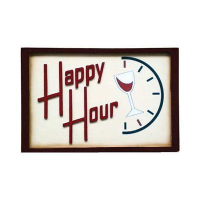 RAM Game Room R863 Happy Hour Sign