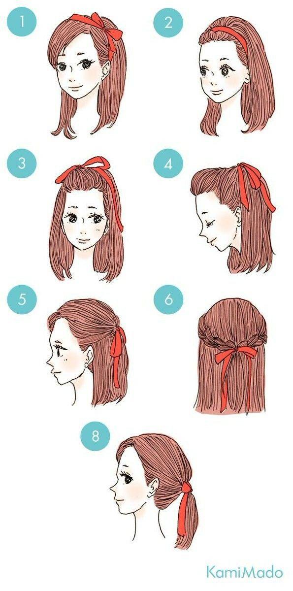 Diferentes Estilos De Peinados Usando Bandanas O Pa 241 Uelos