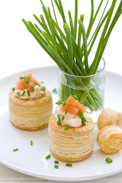 La Taza de Loza: Canapés, Sandwiches y Rellenos de Vol-au-vent