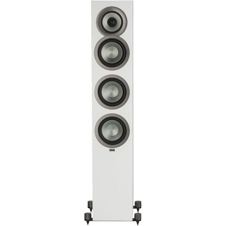 """Elac - Uni-Fi 5-1/4"""" 140-Watt Passive 3-Way Floor Speaker (Each) - Satin white, FSU5-SW"""