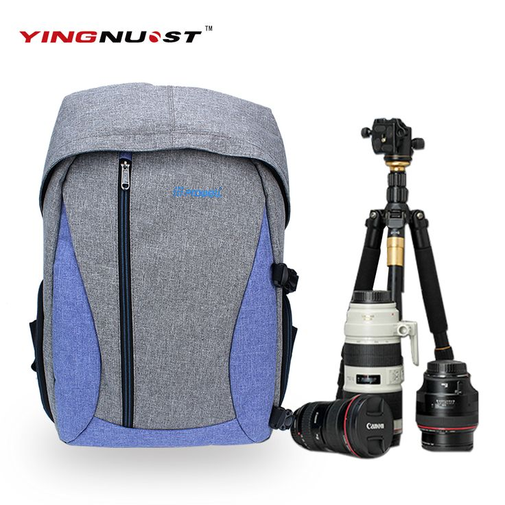 >> Click to Buy << D18 Linen Camera Backpack Digital Dslr Photo Bag Mochila Fotografia Shoulder Bags Sac Appareil Photography for Nikon Sony Canon #Affiliate