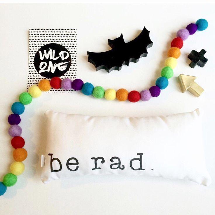 Rainbow Shelfie Garland Eco Friendly Fair Trade Gender Neutral