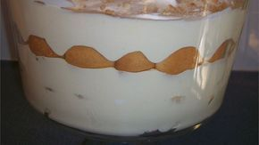 No-cook banana pudding made with instant vanilla pudding mix, condensed milk and whipped topping.