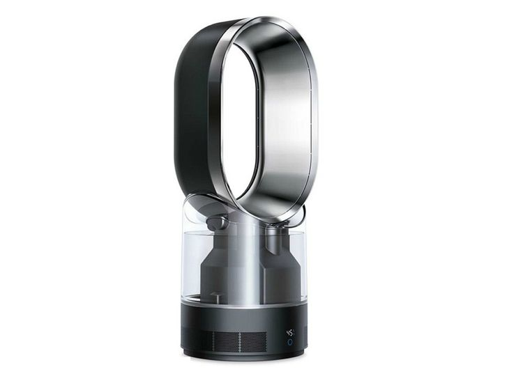 Dyson's first air multiplier humidifer has ultraviolet light that kills most bacteria
