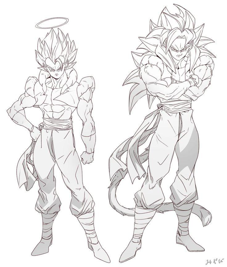 Gogeta and Goku