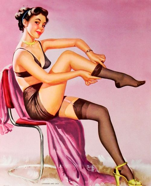 Vintage pin up lingerie