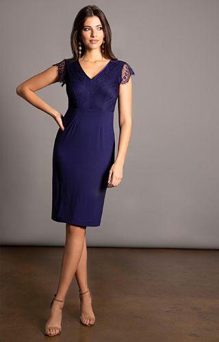 45de11fc5e Bella Evening Shift Dress (Indigo Blue) - Evening Dresses, Occasion Wear  and Wedding Dresses by Alie Street.