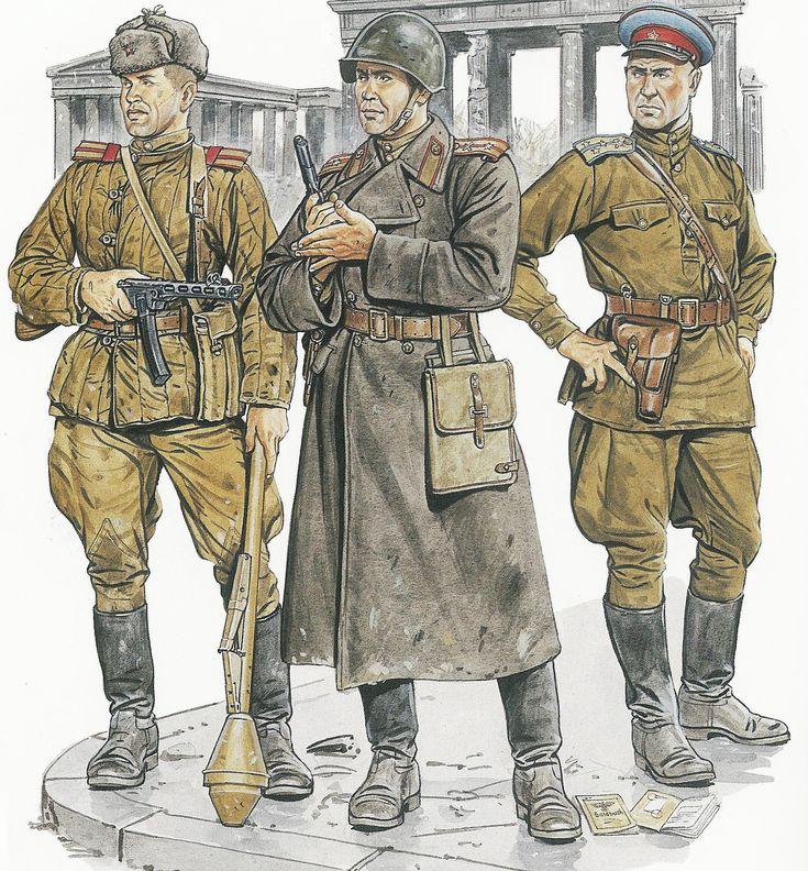 Soviet troops 1945