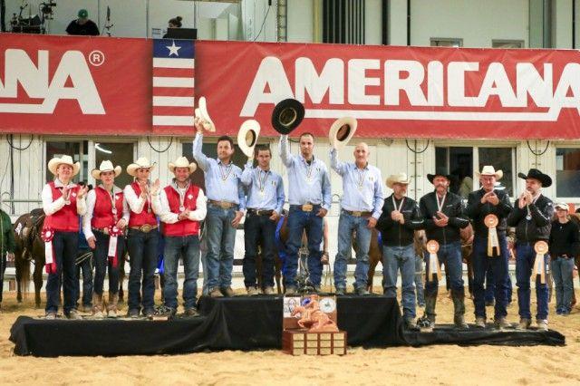 Italien sicherte sich den Sieg im Durango Boots Cowhorse Nations Cup. © Dead or Alive