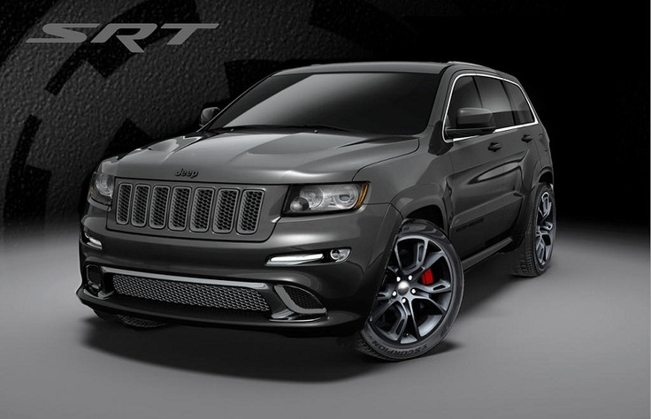 Jeep is planning to release the latest model of 2013 Jeep Grand Cherokee SRT8 in special Alpine and Vapor edition. The Alpine model wrapped with bright white body color, while for Vapor edition wrapped with a shiny black surface color.