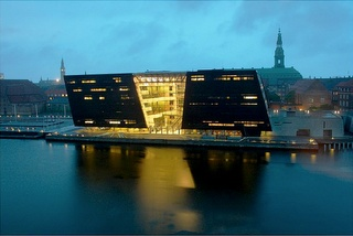 The National Museum of Photography resides in the Royal Library of Denmark - also knows as The Black Diamond.