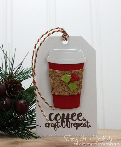 tag coffe cup tea cocoa christmas holly tracey_Day13 - Tracey McNeely