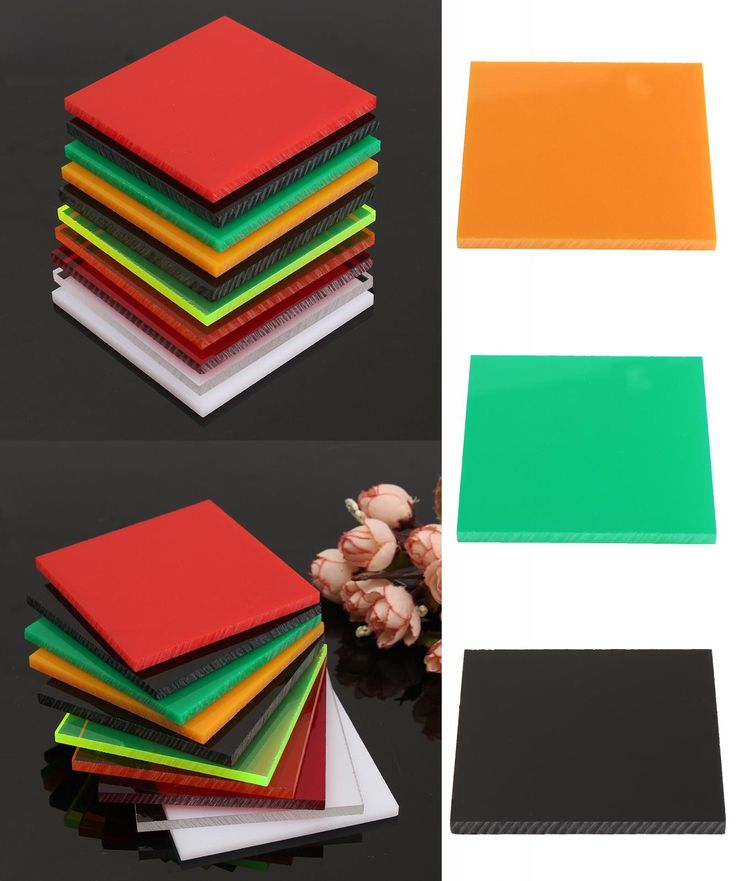 [Visit to Buy] Acrylic Perspex Sheet Cut to Size Panel Plastic Satin Gloss 78x78mm 10 Colors For Home Handmade DIY Craft Supplies #Advertisement
