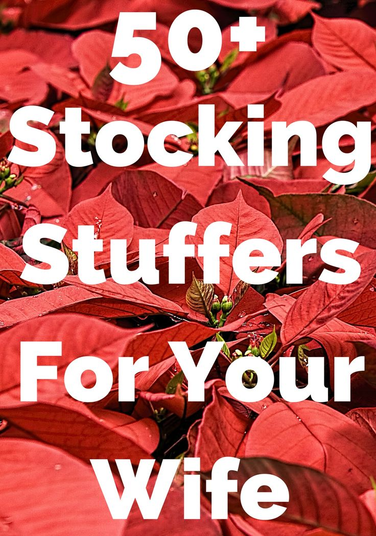 Find the best stocking stuffers for your wife today. She will love to see these awesome gifts in her stocking. Surprise her with your ideas!