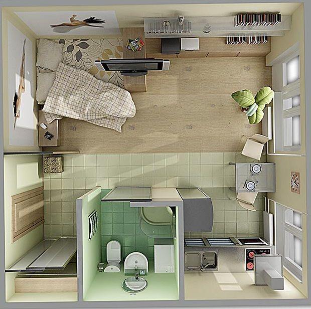 Как обустроить малогабаритную квартиру?