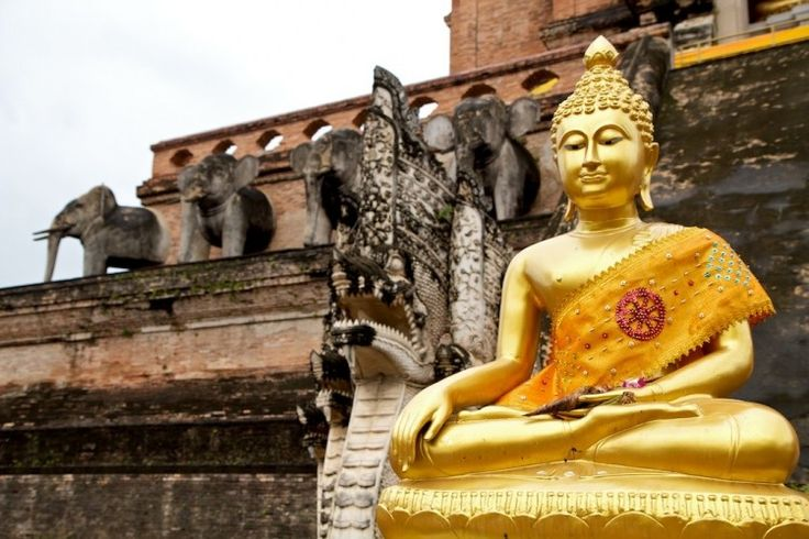 Two Must See Temples of Chiang Mai, #Thailand  #travel #buddhism