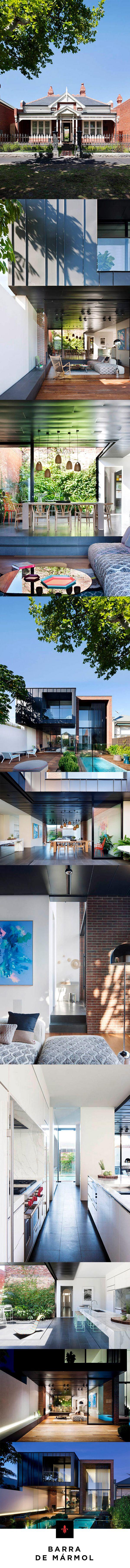 Casa Abstracta | Architectural Digest | Fachada | Estilo victoriano | Renovación | Arquitectura
