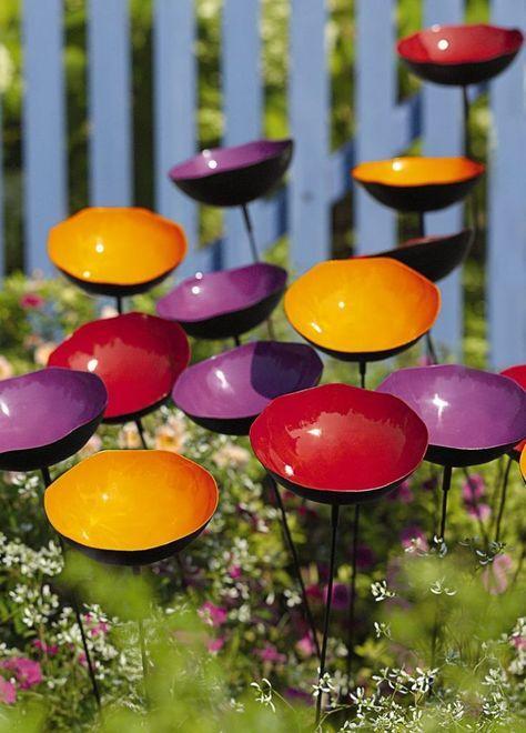 50 Ideen für DIY Gartendeko und kreative Gartengestaltung