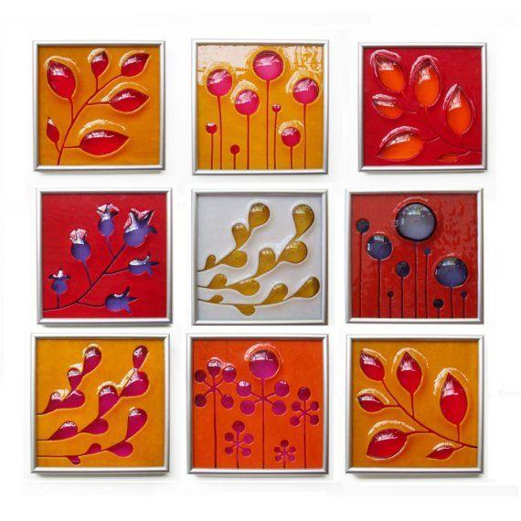 Michelle Prosek Glass Tiles