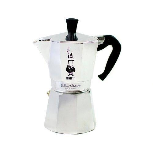 Bialetti Moka Espresso Maker 6 Cup Stovetop Express Coffee