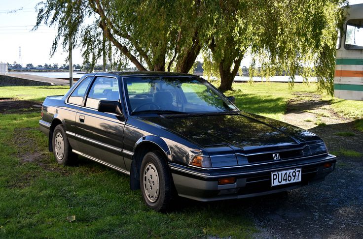 https://flic.kr/p/UWvt2n | 1984 Honda Prelude XX | The Cars of Christchurch, New Zealand
