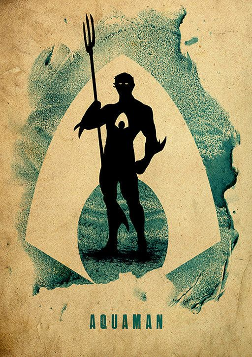 Pixalry — The Justice League Poster Series- Created...