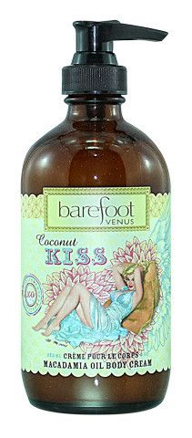 Barefoot Venus - Coconut Kiss Macadamia Oil Body Cream