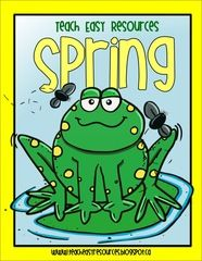 Pre-K Spring Unit Giveaway! - Looking for some fun new activities for spring